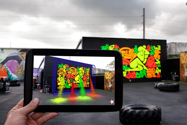 Quand la réalité augmentée rencontre le street art